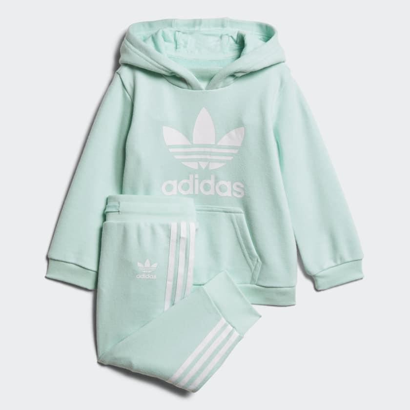 8fe64928c3fc ABBIGLIAMENTO Tuta Tuta Adidas Trefoil Hoodie Infant - Prodotto Disponibile