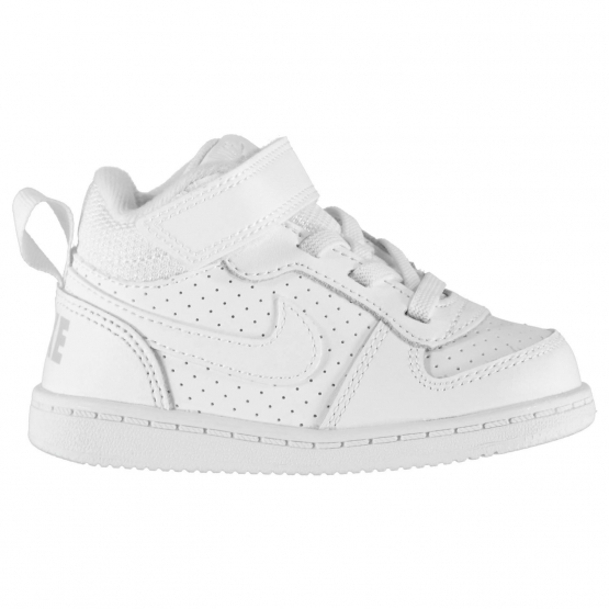 SCARPE Sneakers Nike Court Borough Mid-Ragazzo-Lifestyle-Bianco - Prodotto  Disponibile e327475f6c29