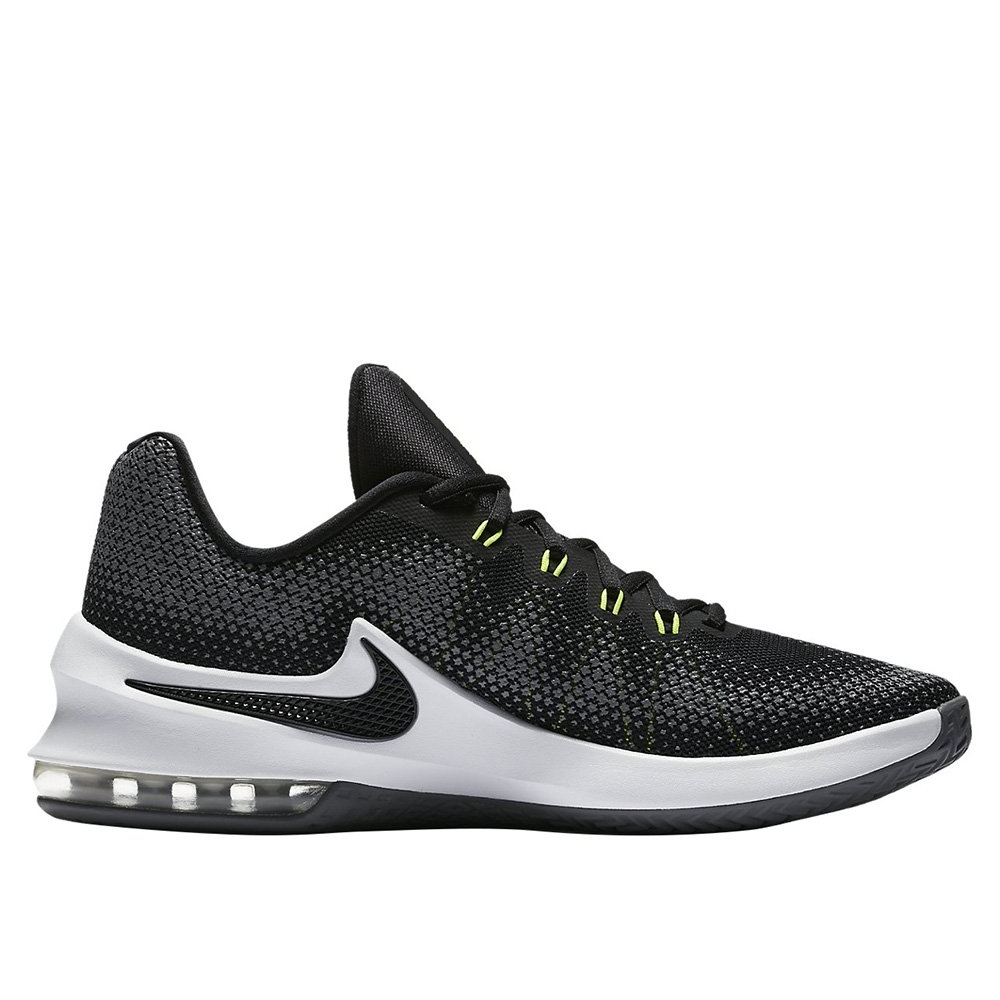 best sneakers ffce5 5f6bc Home · Scarpe · Basket · Nike Air Max Infuriate Low-basket-nero. LOADING  IMAGES